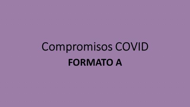 Compromisos COVID