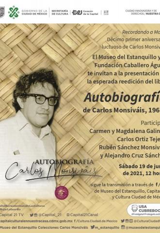 Presentación de la autobiografía de Carlos Monsiváis