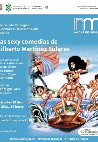 Las sexy comedias de Gilberto Martínez Solares